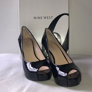 Nine West black heel